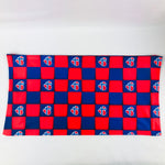 Norway Hearts Checkered buff/gaiter