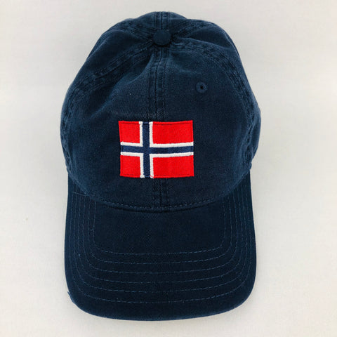 Norway flag navy blue baseball cap