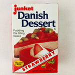 Junket Danish Dessert - Strawberry