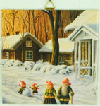 "6"" Ceramic Tile, J Bergerlind Tomtar Family"