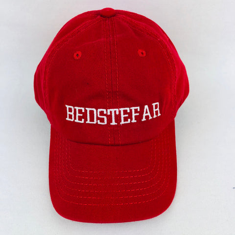 Bedstefar red baseball cap
