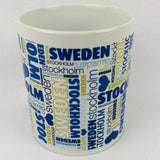 Love Stockholm coffee mug