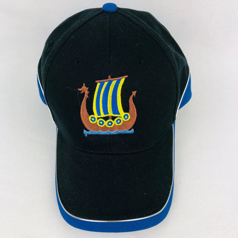 Sweden Viking ship baseball cap