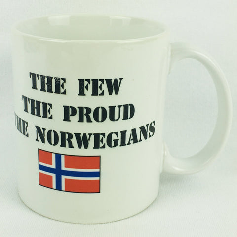 The Few The Proud The Norwegians coffee mug