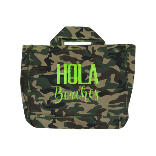 Hola Beaches | Camo | Super Bag