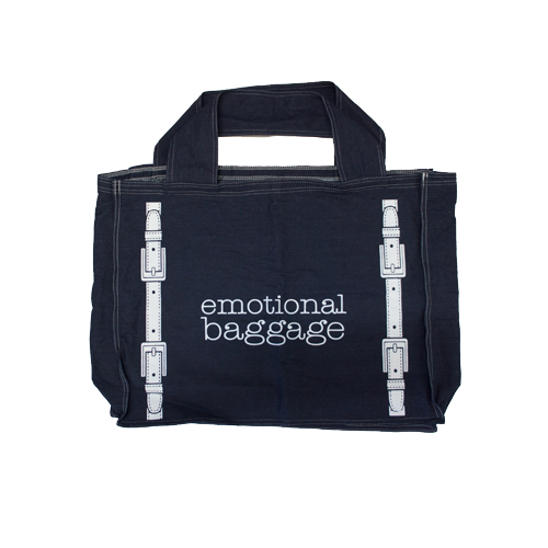Emotional Baggage | Denim | Super Bag