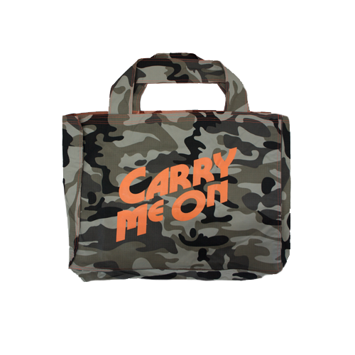 Carry Me On | Grey Camo | Super Bag