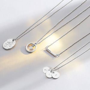 Silver Finish Necklaces