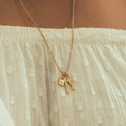 You Hold The Key Necklace Charm