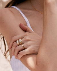 Go With The Waves Ring