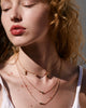 Bryan Anthonys Soul Sisters Best Friend Arrow Gold Necklace on model