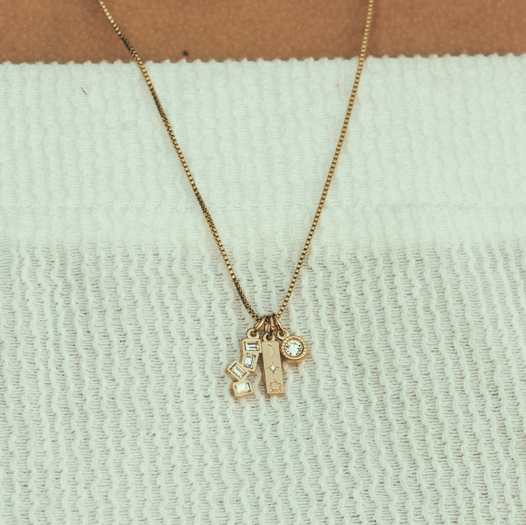 Love The Sky You're Under Necklace Charm