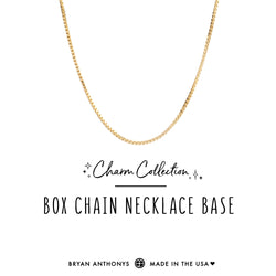 Box Chain Necklace Base