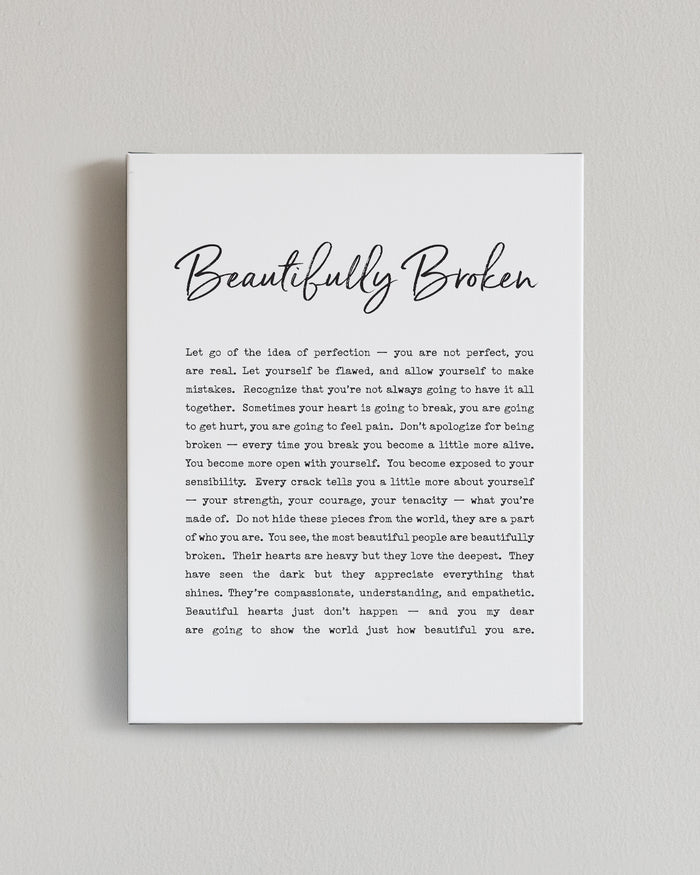 Bryan Anthonys beautifully broken signature canvas print lifestyle