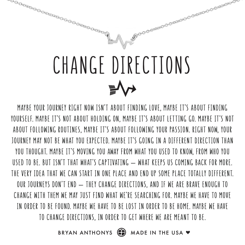Bryan Anthonys Dainty change directions Necklace silver