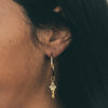 you hold the key earring charm on midi earring base bryan anthonys charm collection