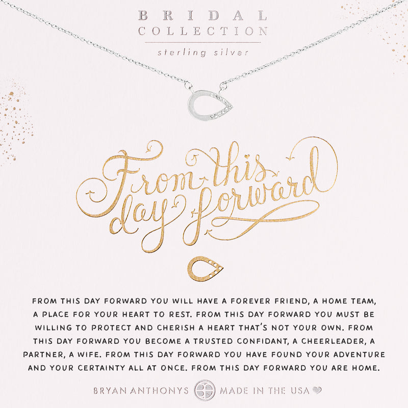 From This Day Forward Necklace