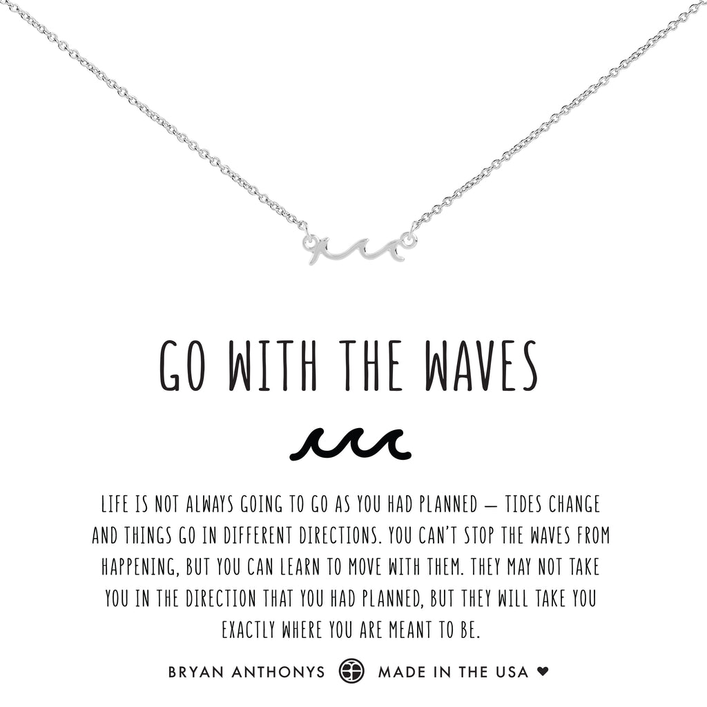 Bryan Anthonys dainty go with the waves anklet silver