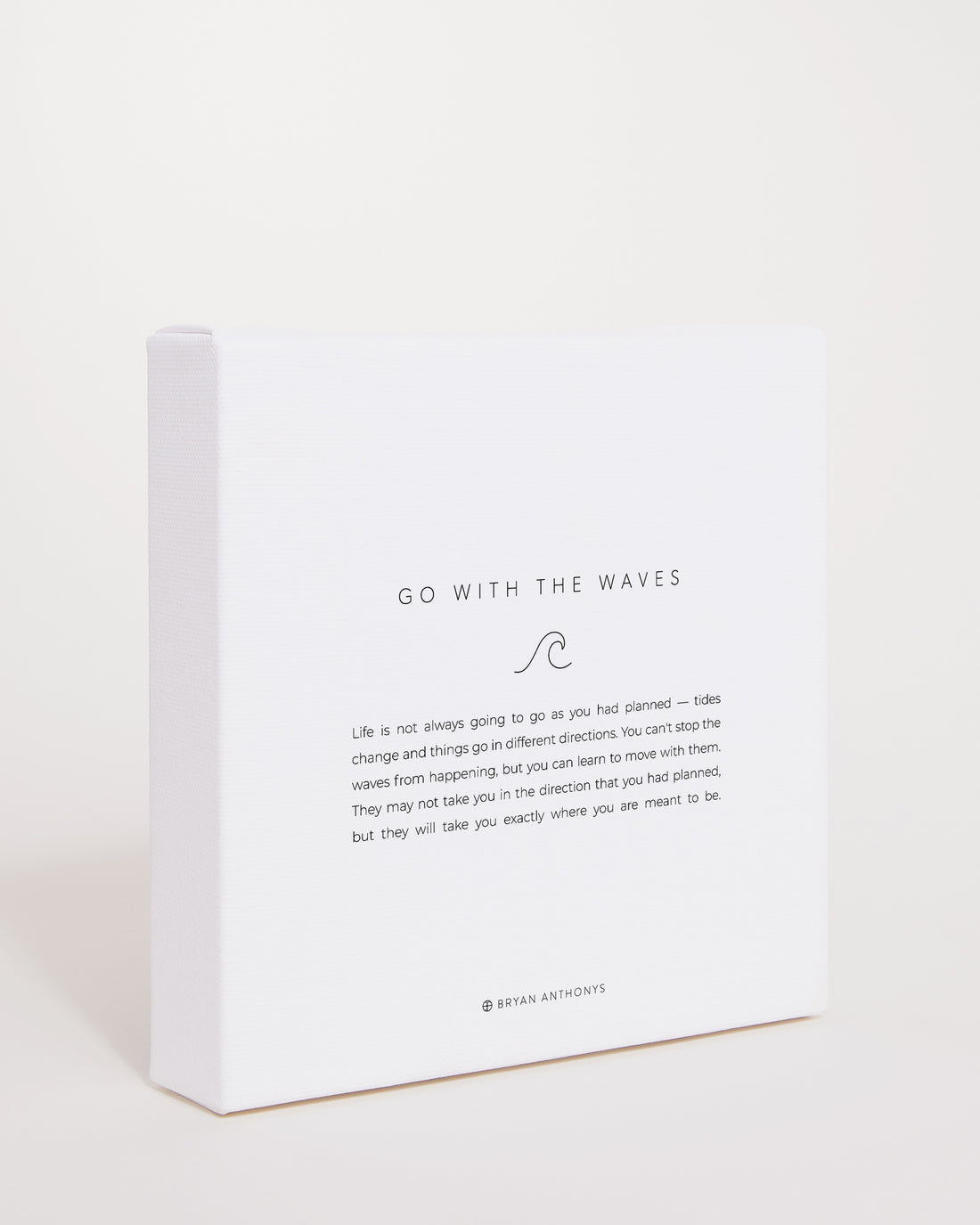 Go With The Waves Mini Mantra