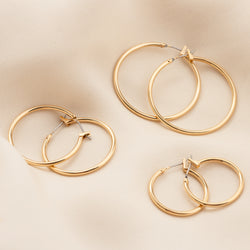 mini midi maxi size hoop bases bryan anthonys charm collection