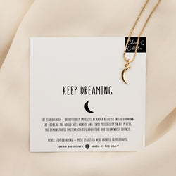 Keep Dreaming Necklace Charm