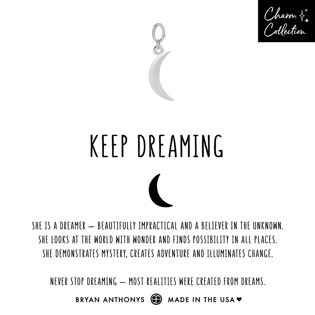 bryan anthonys charm collection keep dreaming earring charm silver
