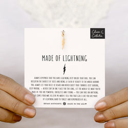 Made of Lightning Necklace Charm