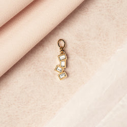 bryan anthonys charm collection beautifully broken earring charm product shot close up 14k gold