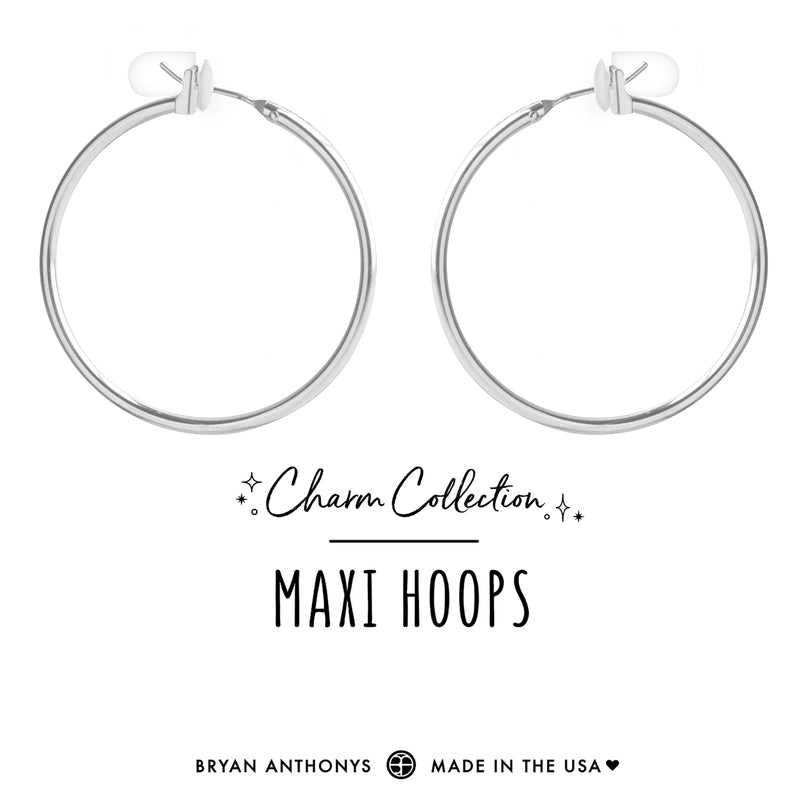 Maxi Hoops Earring Base