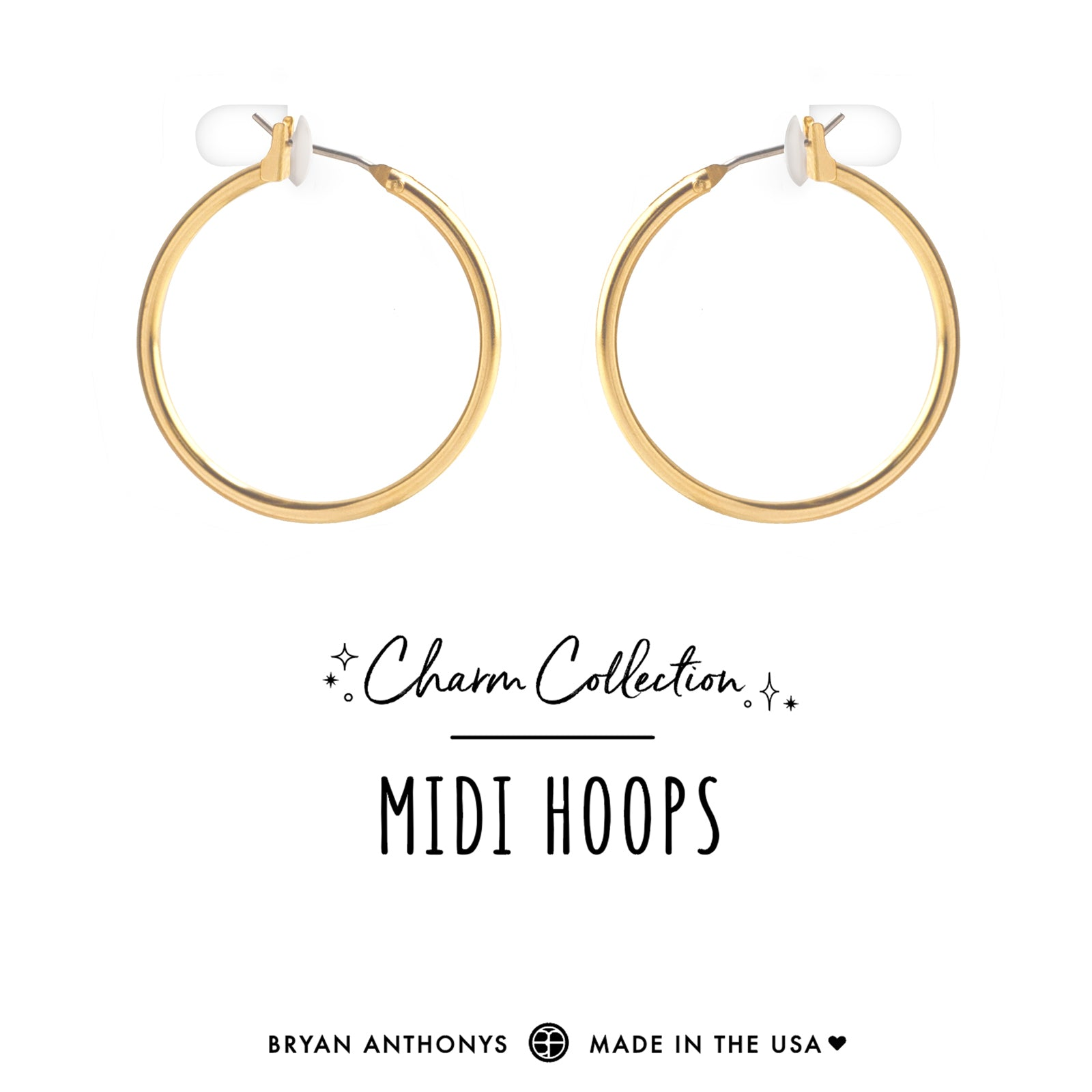 d0547839b bryan anthonys charm collection earring charm bases midi hoops 14k gold