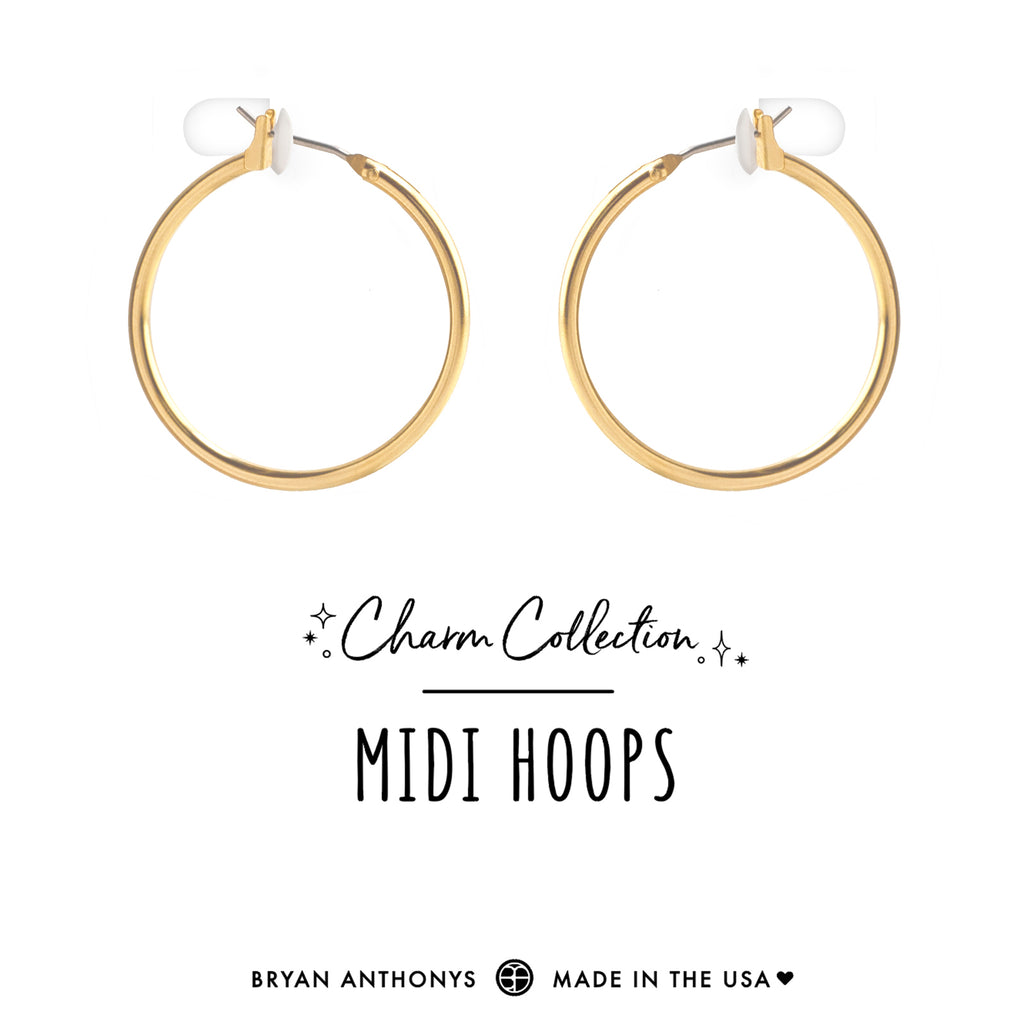 bryan anthonys charm collection earring charm bases midi hoops 14k gold