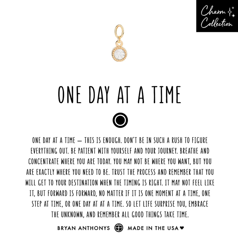 One Day At A Time Earring Charm