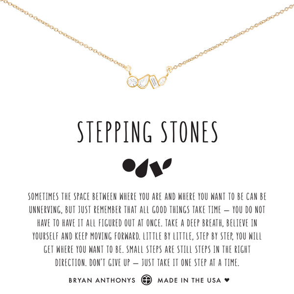 Bryan Anthonys dainty stepping stones necklace 14k gold