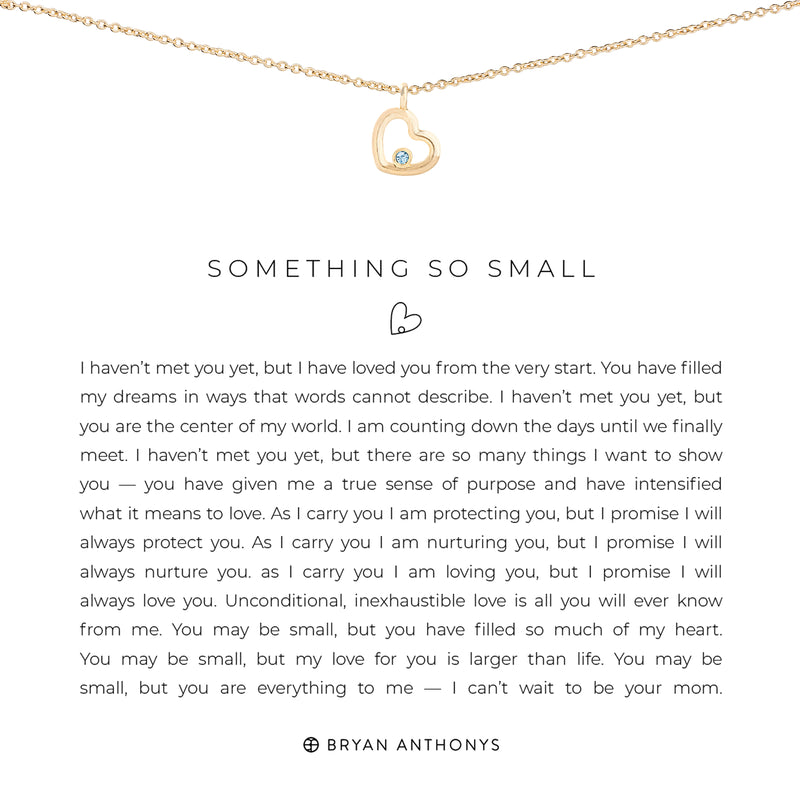 Something So Small Necklace
