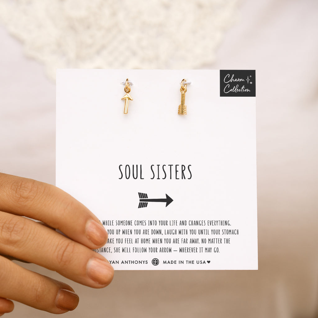 Soul Sisters Necklace Charm Set