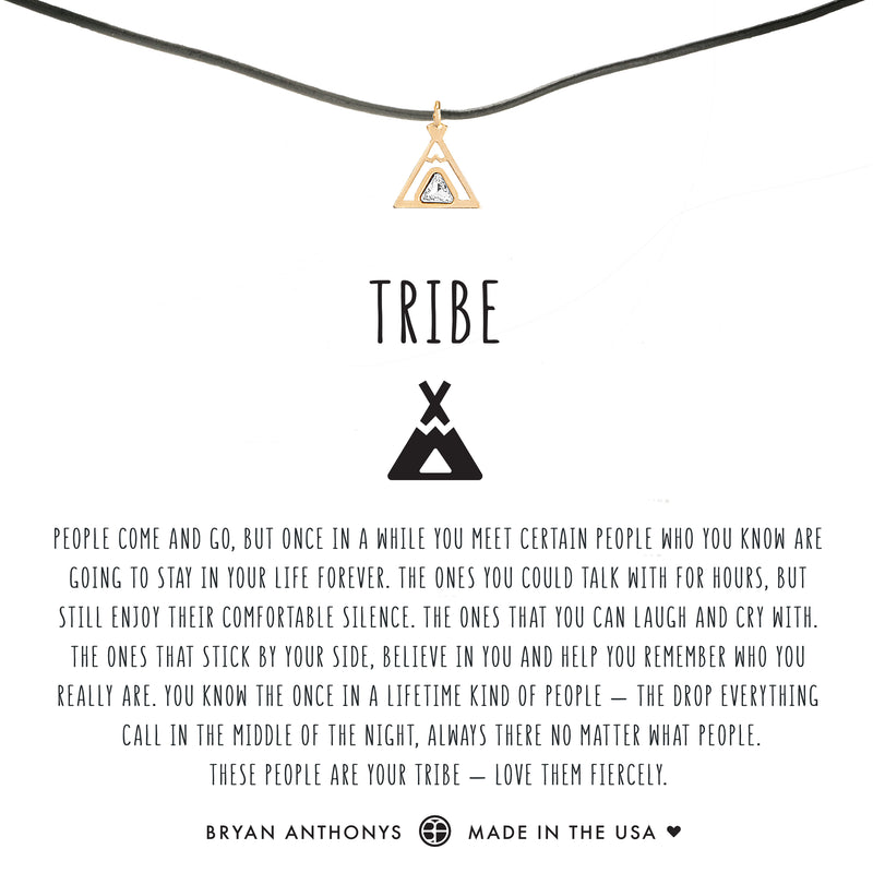 Tribe Friendship Leather Choker