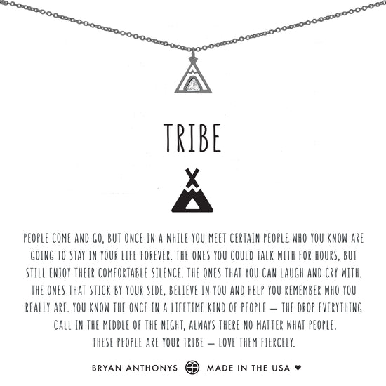 Tribe Friendship Necklace {Colored Stones}
