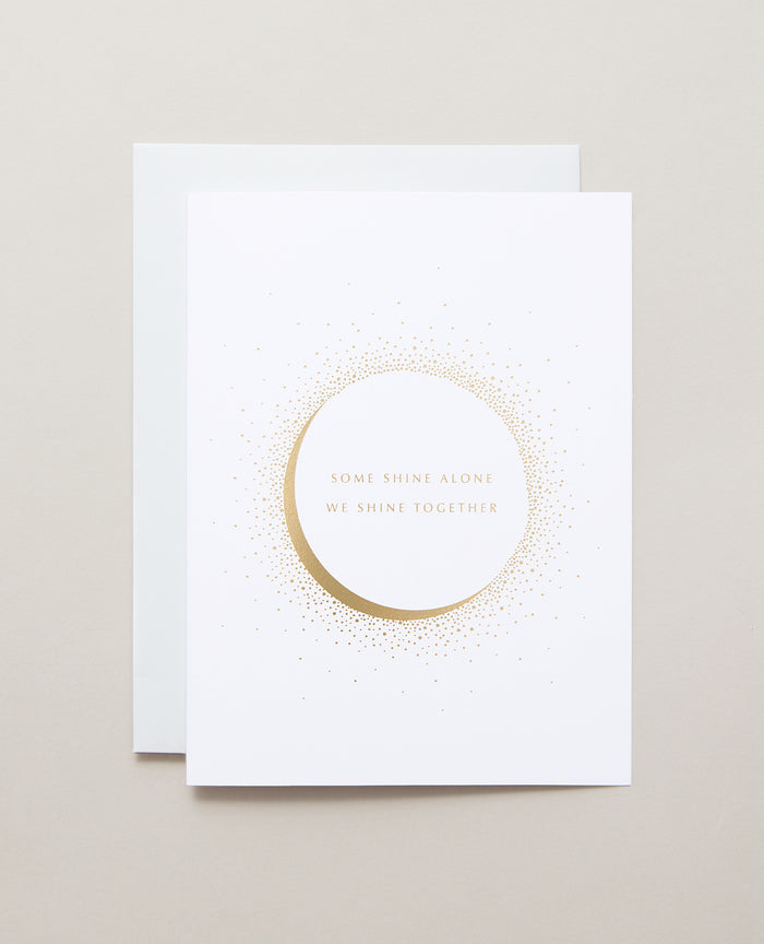 Bryan Anthonys Better Together Valentine's Day Gold Foil Greeting Card