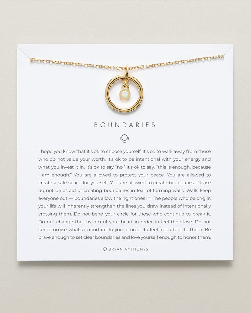 Boundaries Necklace