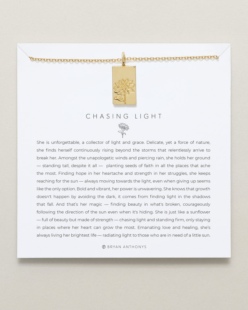 Chasing Light Necklace