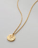 Bryan Anthonys No Flowers Without Rain Gold Necklace with Crystals Macro