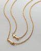 Bryan Anthonys Soul Sisters Best Friend Arrow Gold Necklace Macro