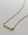 Bryan Anthonys START SOMEWHERE GOLD NECKLACE MARCO SHOT