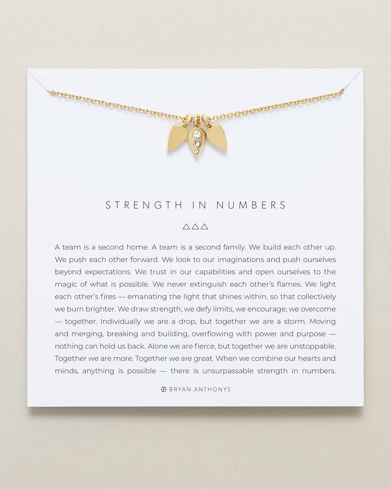 Strength In Numbers Necklace