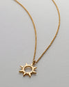 Bryan Anthonys SUN WILL RISE GOLD NECKLACE MACRO SHOT