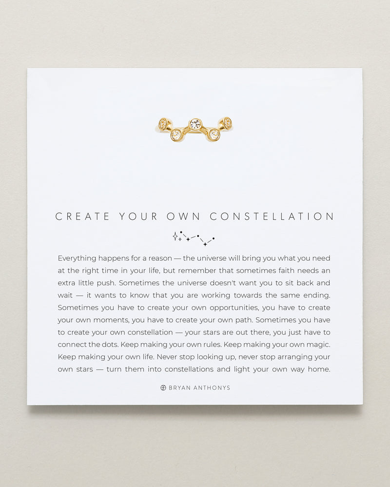 Create Your Own Constellation Ring