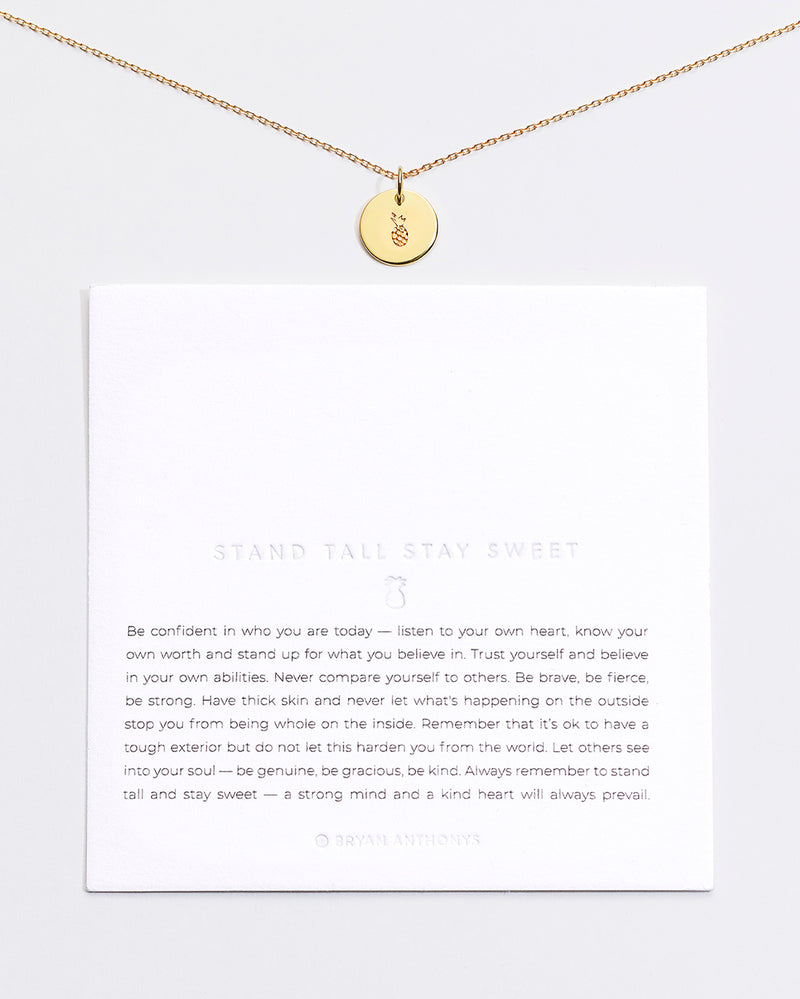 Stand Tall Stay Sweet Symbol Stacker with Chain