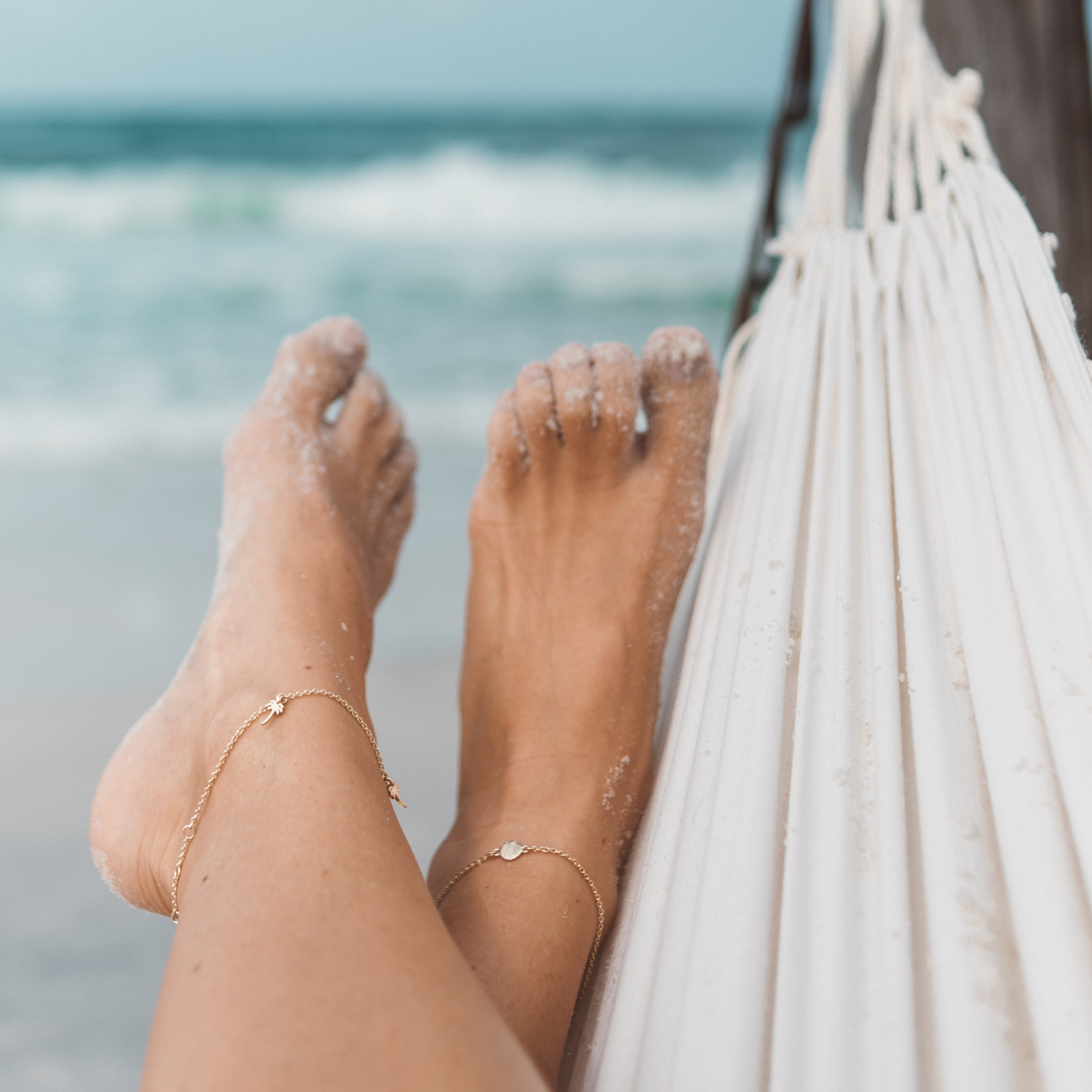 8bde3e64b Bryan Anthonys seashell anklet be your own kind of beautiful Lindsay  Havlicek Bell