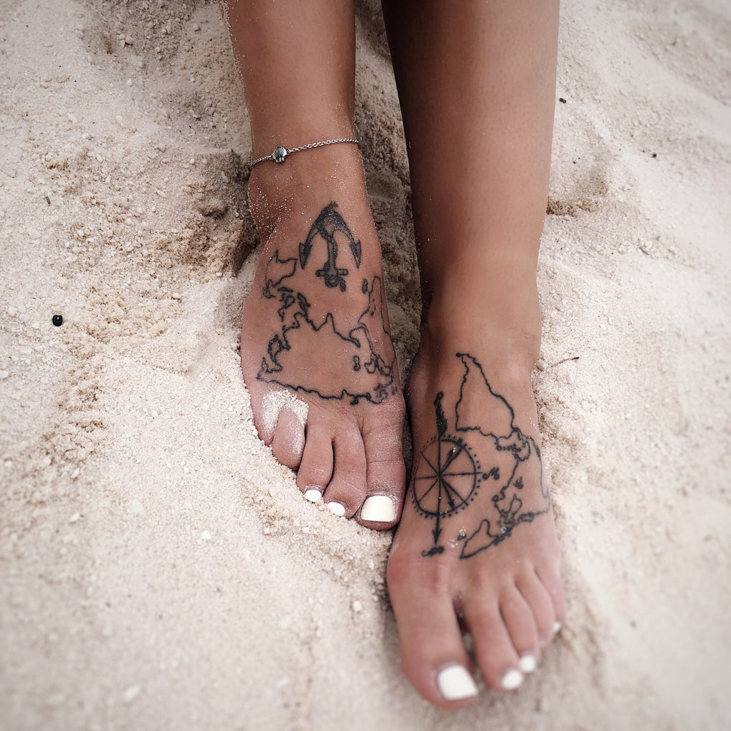 dainty seashell anklet be your own kind of beautiful in silver
