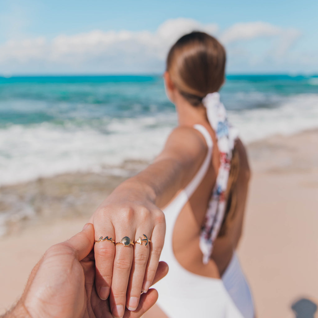 beach rings bryan anthonys dainty anchor stay grounded ring